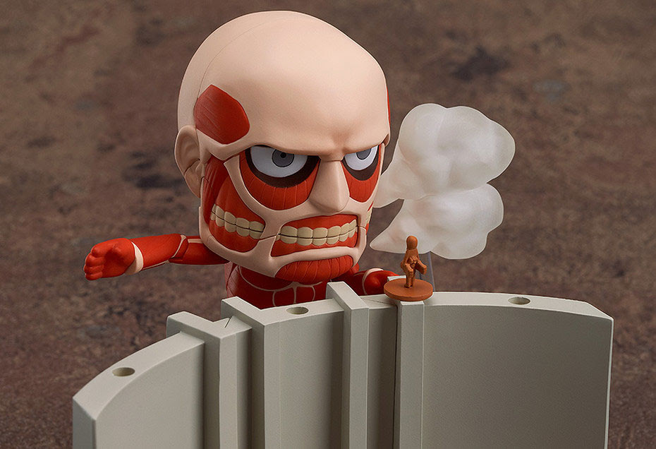 Nendoroid Colossal Titan Attack On Titan Playset From Good Smile Co