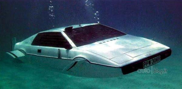 Risultati immagini per auto 007 sommergibile