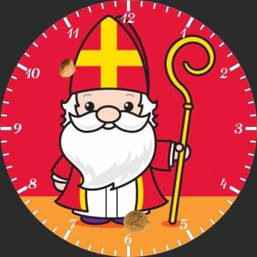 Sinterklaas - WatchMaker for Android Wear, iPhone, Samsung Gear S2 & S3, Huawei, Moto 360, LG G Series!