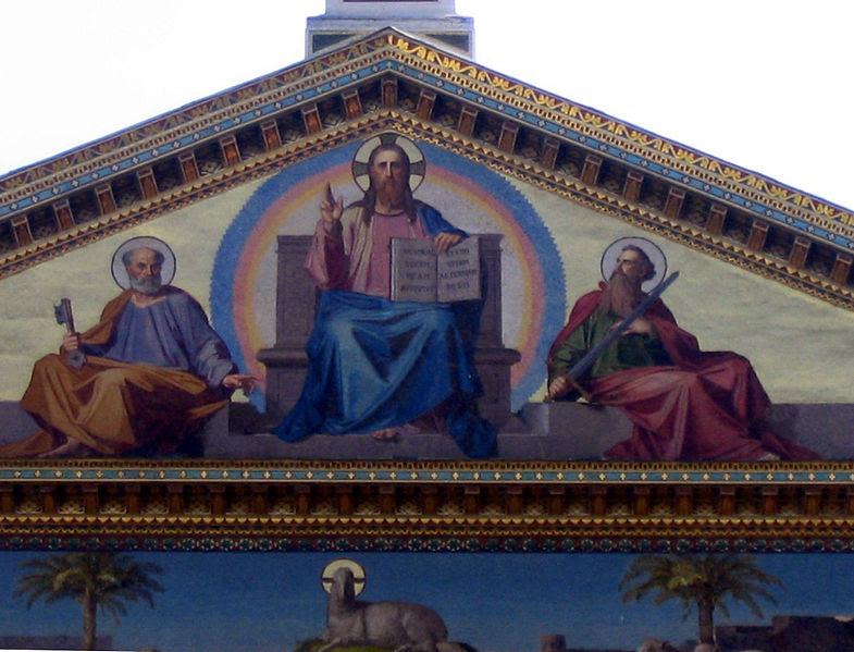 File:Roma - Basilia di San Paolo fuori le mura 3.jpg