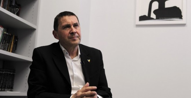 Arnaldo Otegi, secretario general de Sortu.ANDER GILLENEA / AFP