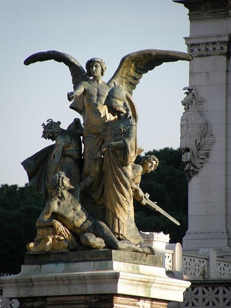 Fil: Rom-Italien, Vittoriano - Il Pensiero, G.Monteverde.JPG