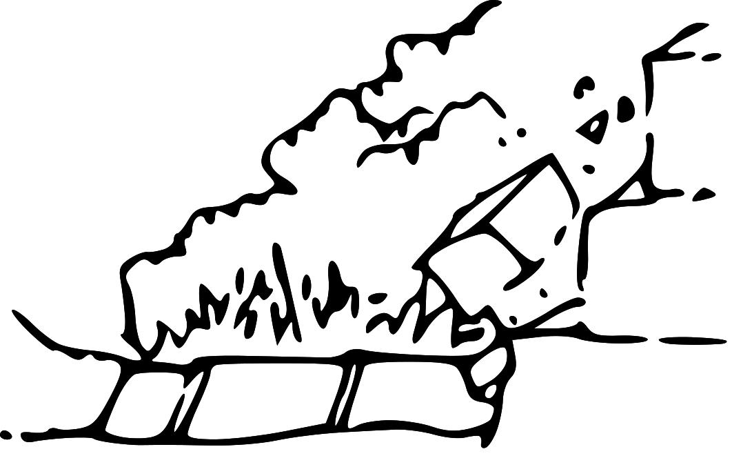 Free Earthquake Clipart Black And White Download Free Clip Art Free Clip Art On Clipart Library