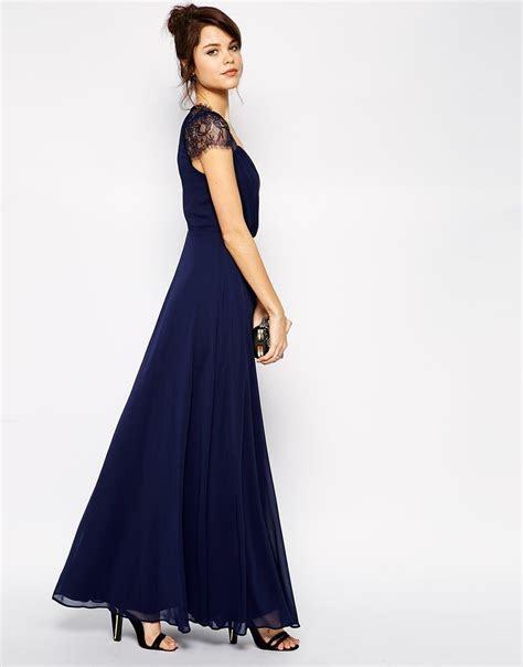 ASOS ? Kate Lace Maxi Dress   Blue Weddings   Maxi