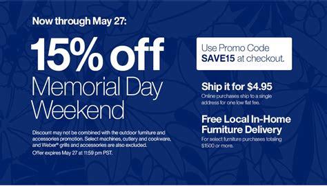 promotional code  crate  barrel october  discount