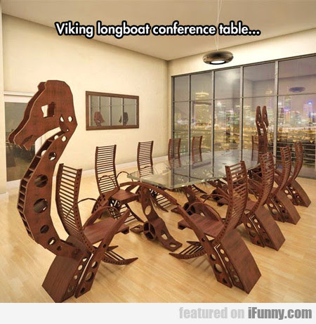 Epic Viking Conference Table