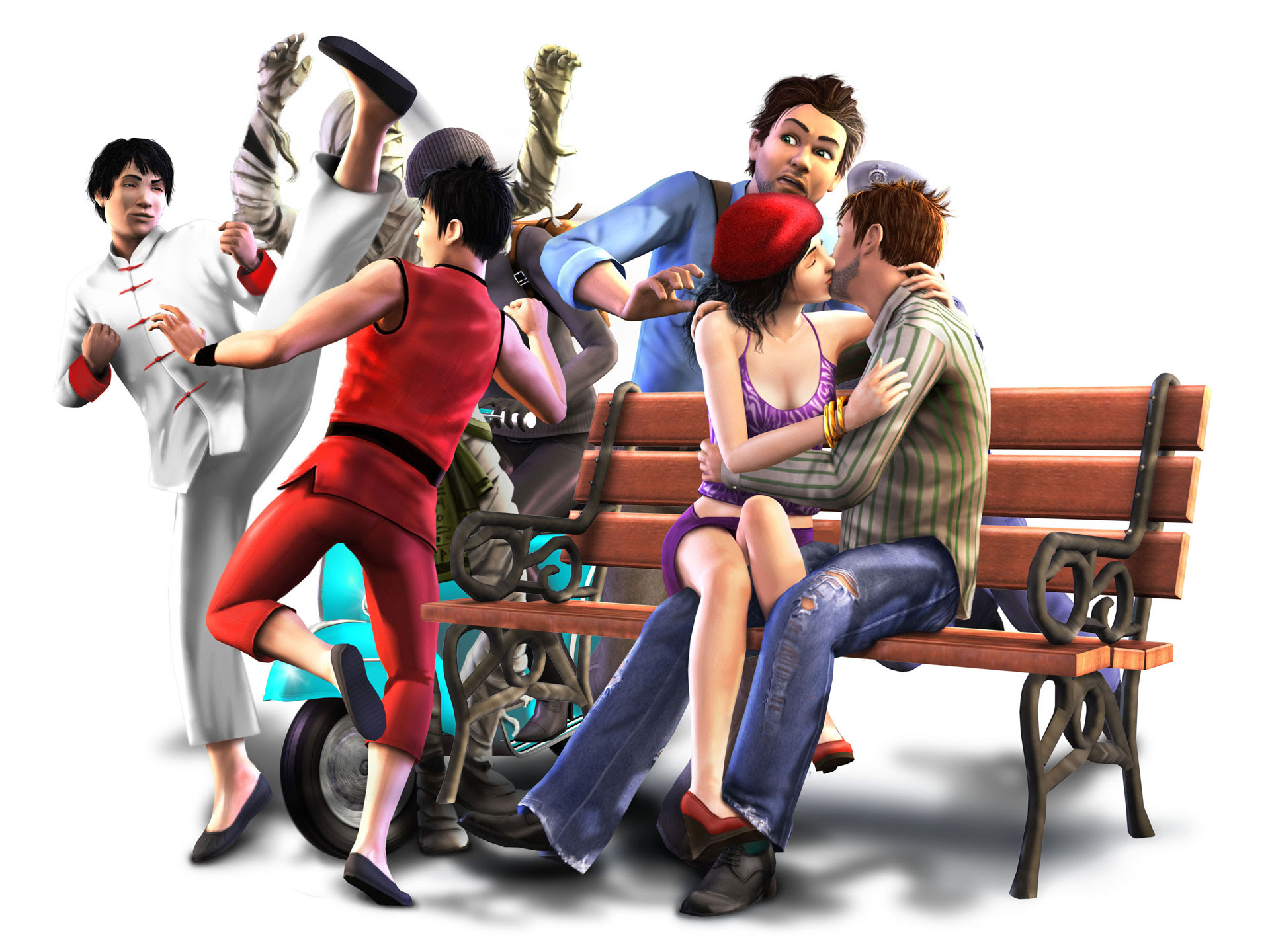 The Sims 3 World Adventures 4195229 1920x1440 All For Desktop