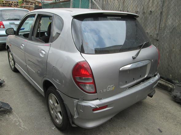 Daihatsu Sirion I GTVi 1 3i A Silver Wrecking in Sydney