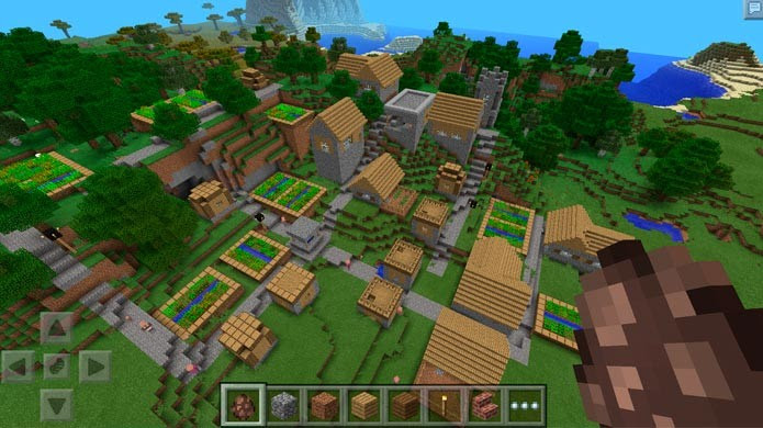 Minecraft Pocket Edition (Foto: Divulgação)