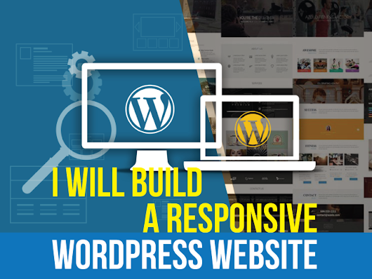 I will create a responsive SEO driven WordPress website