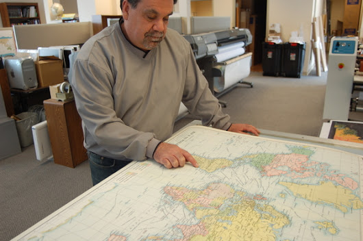 UW-Madison spinoff is big-time producer of specialty maps