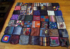 knitted quilt