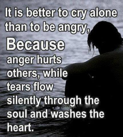 Quotes About Angry Tears 31 Quotes