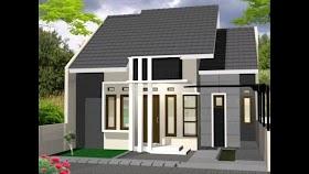Model Rumah Minimalis 3 Atap