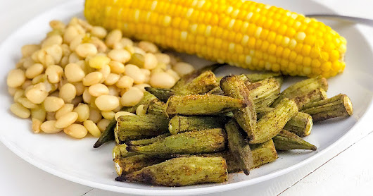 Roasted Okra | Recipe from FatFree Vegan Kitchen