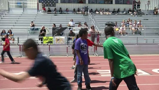 High Spirits Win Day at First-Ever Overcoming Obstacles Track Meet
