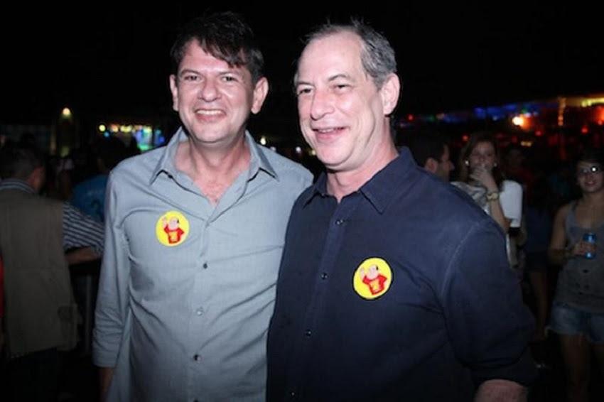 Cid e Ciro também são acusados de pagar R$ 2 milhões por comando de partido. (Foto: Balada In)