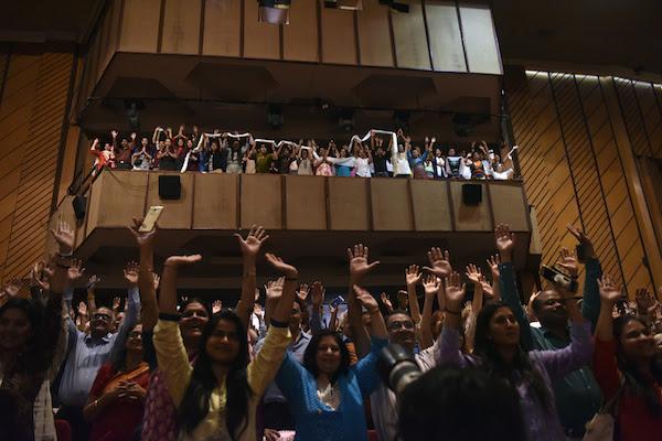 Image result for people emotional auditorium