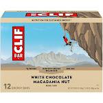 Clif Energy Bars, White Chocolate Macadamia Nut - 12 pack, 2.4 oz bars