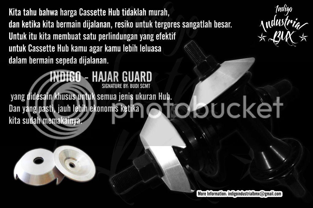 Indigo - Hajar Guard