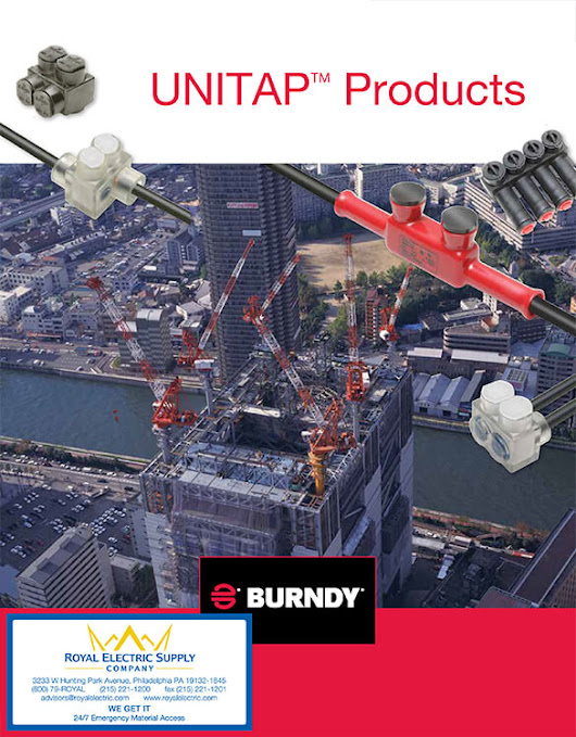 New products by Burndy Unitap Company - GlobeElectricSupply