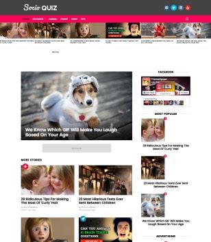 Socio Viral Buzz Blogger Templates.