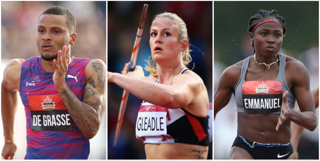 De Grasse Emmanuel Win And Gleadle Breaks Record On Friday At The