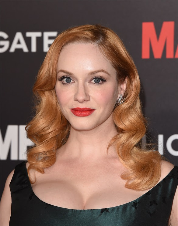 Christina Hendricks - Best Beauty Look: Strawberry Blonde
