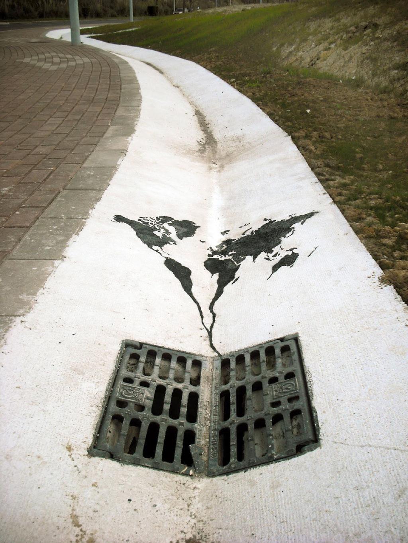 24 eloquentes obras de arte urbana mostrando a desagradável verdade 02