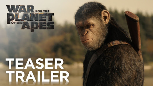 War for the Planet of the Apes | Official Trailer | 20th Century FOX - YouTube