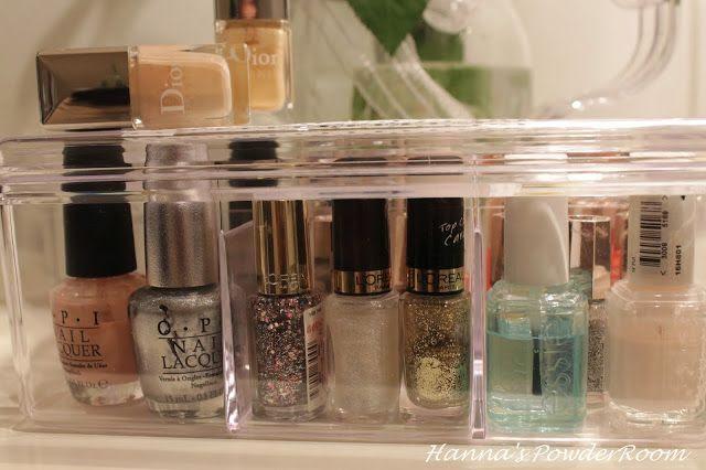 nail polish store box hanna's powderroom blog