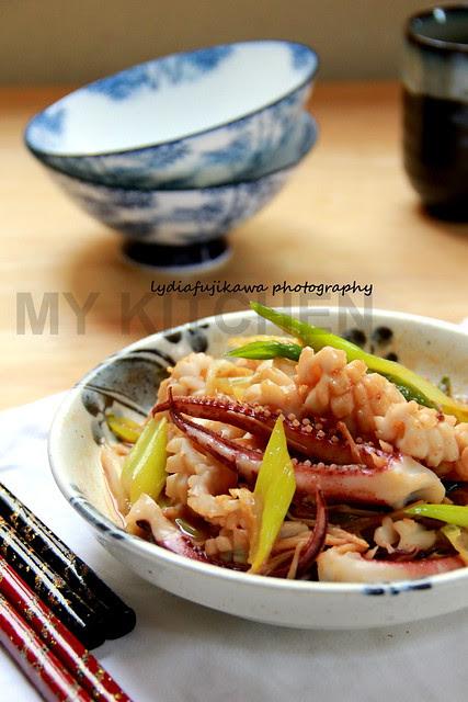 Seafood_IkaNegi