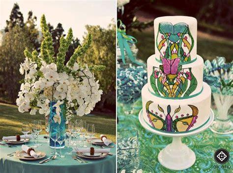 Art Nouveau Tablescapes   Wedding   Wedding cakes, Art