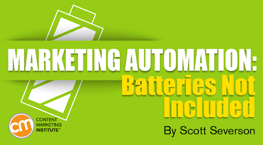 Marketing Automation: Batteries Not Included