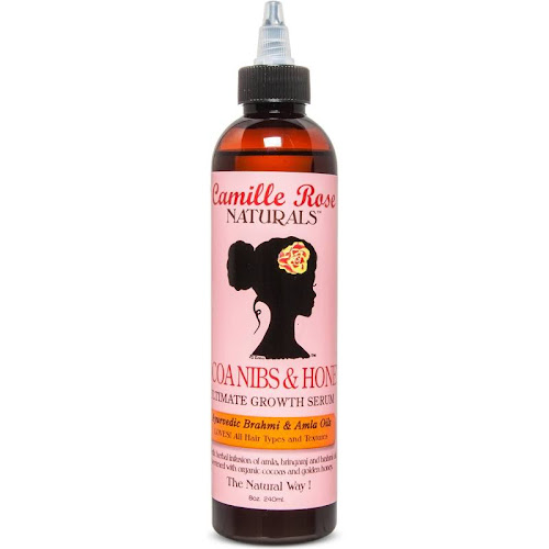 Camille Rose Naturals Ultimate Growth Serum, Cocoa Nibs & Honey - 8 oz