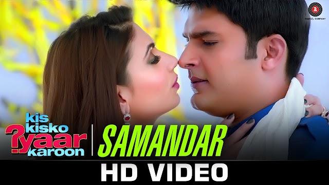 Samandar Main Kinara Tu Song Lyrics in Hindi - Kis Kisko Pyaar Karoon