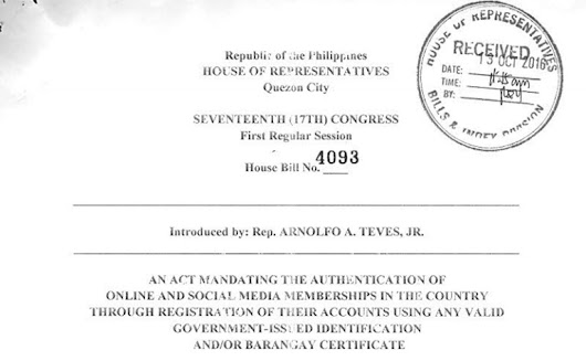 House Bill pushes for mandatory website and social media registration | YugaTech | Philippines Tech News & Reviews