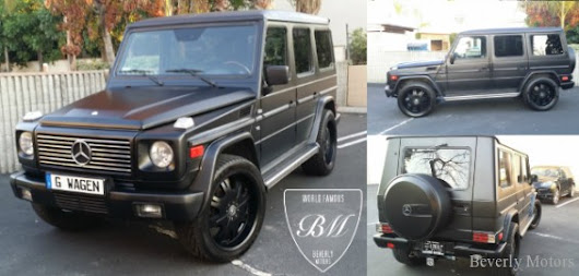 2002 Mercedes Benz G500 For Sale by Beverly Motors Inc