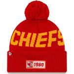 New Era Kansas City Chiefs Road Sport Knit Hat - Red