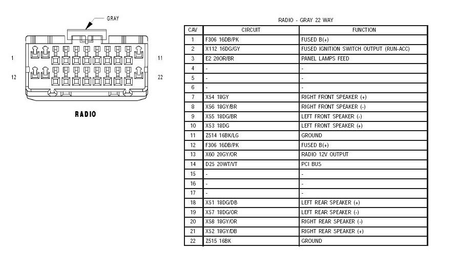 2007 Jeep Radio Wiring Diagram