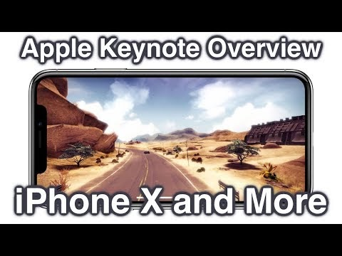iPhone X, iPhone 8, Apple Watch Series 3, and Apple TV 4K Keynote Discussion  A new thing I've been ...