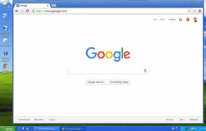 Google anuncia data para o fim  Chrome no Windows XP