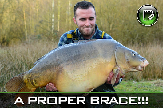 Carp Fishing ~ A Proper Brace! ~ by David Gaskin - Gardner Tackle