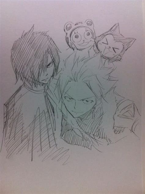 frosch lector rogue  sting fairy tail fairy tail