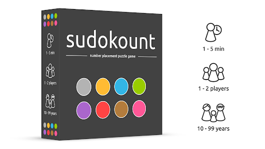 SudoKount, number placement puzzle game inspired by Sudoku