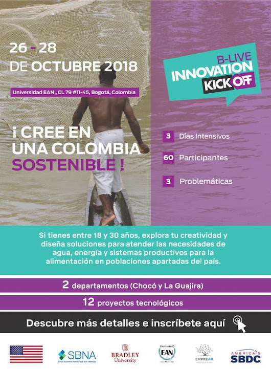 B-Live Innovation Kick off – Tecnologías al servicio de una Colombia Sostenible