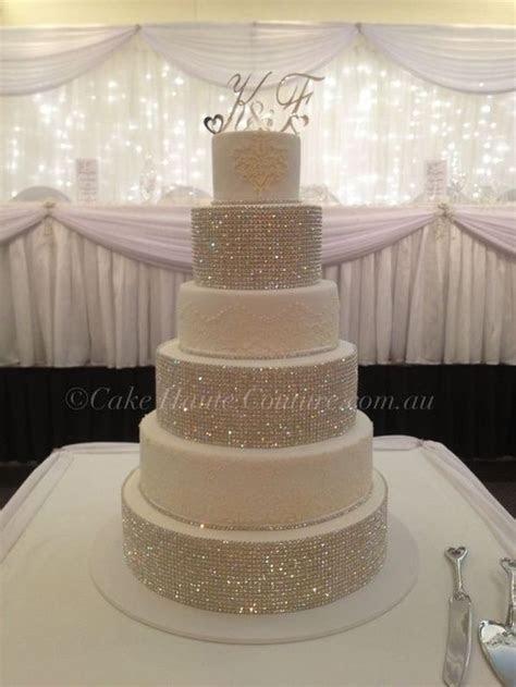 Pin by Arteia Cornigan on wedding   Bling wedding cakes