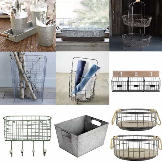 15 Industrial Storage Ideas Under $50 - The Summery Umbrella
