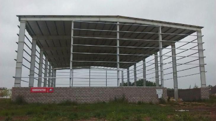 Cina Bata Dinding Struktur Baja Gudang Produsen Pemasok Pabrik Struktur Baja Murah Qingdao Kxd