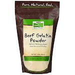 Now Foods Beef Gelatin Powder - 1 lb.